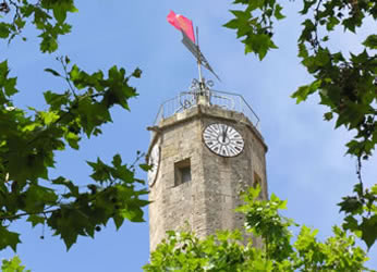 Capestang clock tower