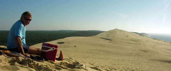 Stunning views from summit of La Dune du Pilat